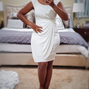 Classic Ivory Lined Dress 4P